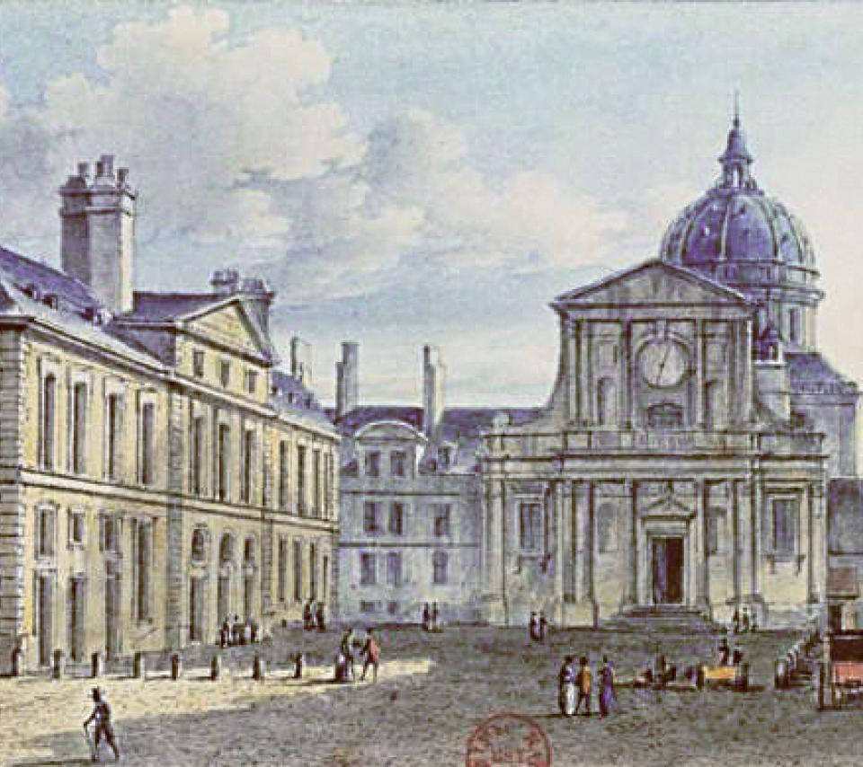 illustration de la Sorbonne